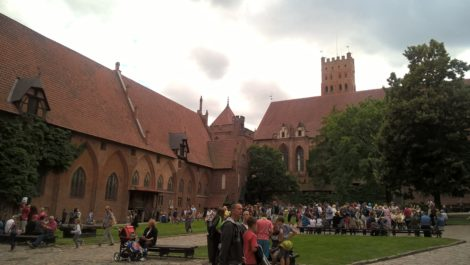 Zamek wMalborku (2)